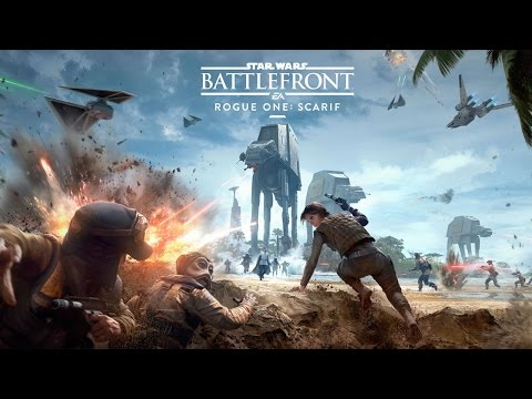 Star Wars Battlefront Rogue One: Scarif - Official Trailer thumbnail