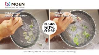 Watch Moen Power Clean Innovation