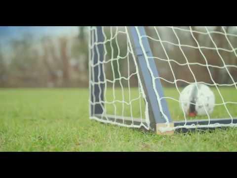 Homegoal Pro Fußballtore für den Garten - Schwartz