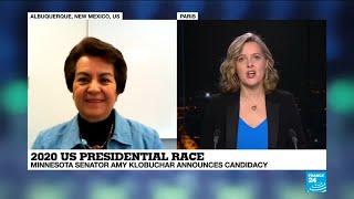 2020 US Presidential Race: Minnesota senator Amy Klobuchar announces candidacy
