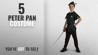 Top 10 Peter Pan Costume [2018]: Peter Pan - Size: Child M(7-8)
