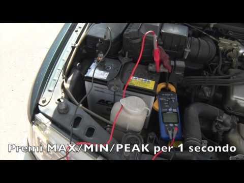 Come si utilizza una pinza CM437x - Misura simultanea di Tensione e Corrente CC