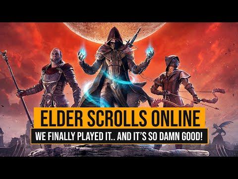 THE ELDER SCROLLS ONLINE IS SO MUCH FUN!
