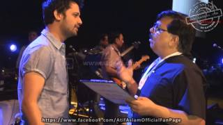 Atif Aslam's Sound Check Moments | Legends Forever | Dubai | Part 1