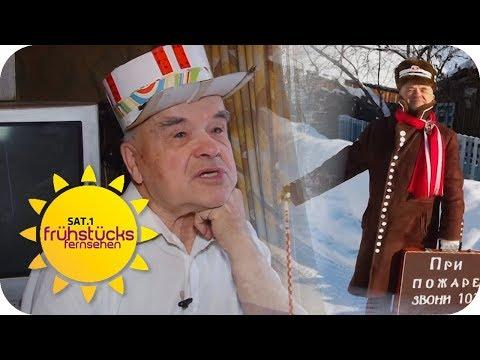 Russischer Designer Opa (71): Er mag es extravagant und schräg | SAT.1 Frühstücksfernsehen | TV