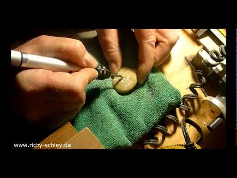 Steine selbst gravieren - engraving stones at home