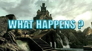 Skyrim What Happens If you Kill Everyone In a city ?