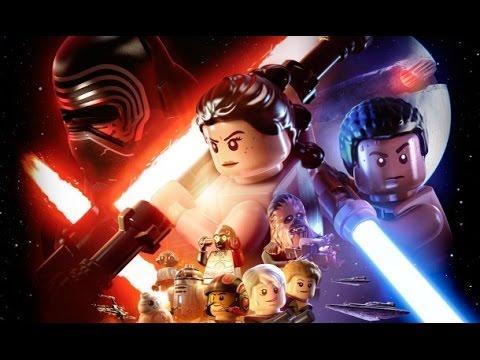 LEGO Star Wars: Force Awakens All Cutscenes (Game Movie) HD