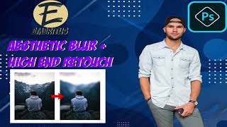 I will blur and high end retouch your photo