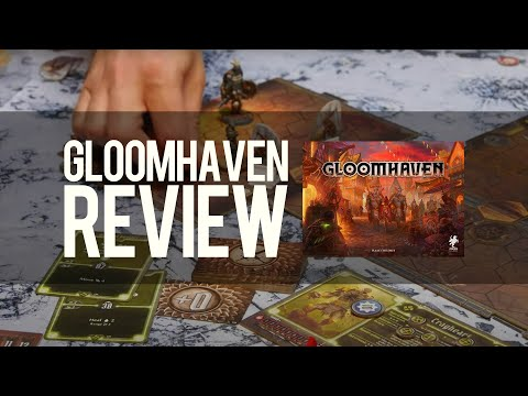 Gloomhaven Review: The Game That Needs a Spare Room