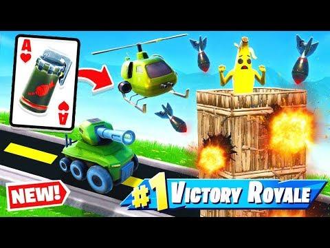 *NEW* AIR STRIKE War CARD GAME Mode in Fortnite Battle Royale
