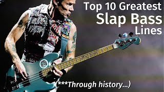 10 Greatest Slap Bass Lines of All Time (*through history*)