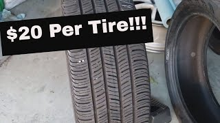 HOW TO BUY QUALITY TIRES FOR DIRT CHEAP!!