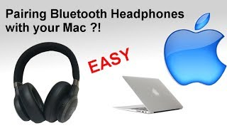 Pairing Bluetooth headphones to a Mac Computer (How to)