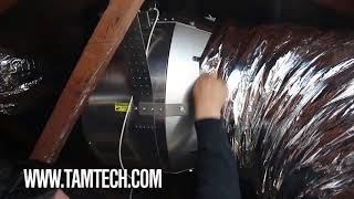Tamarack HV5500G Blizzard and HV5800 Cyclone Whole House Fans Installation Video