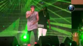 Stonebwoy perform submarine at the Necessary Evil album launch 2015