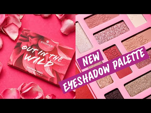 Essence Essence Out In The Wild Eyeshadow Palette Don't Stop Blooming
