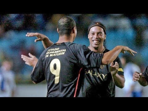 Amigos Ronaldinho vs Amigos Messi ● Full Match (2nd half)