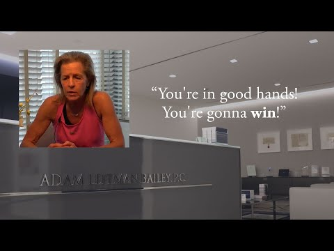 """Oh, you're going to win… he's the best."" – M.G. testimonial video thumbnail"