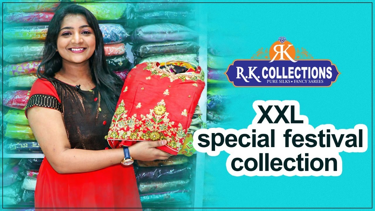 "<p style=""color: red"">Video : </p>Dasara Special XXL dresses CollectionsDasara Special XXL dresses Collections I Rkcollections I RKB044-.. 2020-10-17"