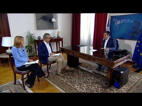 Συνέντευξη του πρωθυπουργού Αλέξη Τσίπρα στην ΕΡΤ3 | 23/6/2019 | ΕΡΤ
