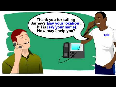 Cashier training- Part 1 - YouTube