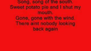 Song of the South-Alabama (lyrics)