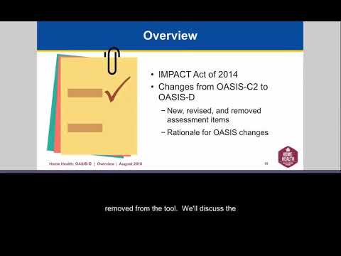 Introduction to the OASIS-D Webinar - YouTube