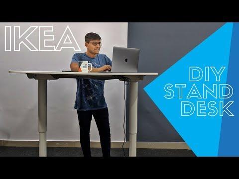 Assembling the IKEA Sit Stand Desk at PhoneRadar (Bekant Standing Desk)
