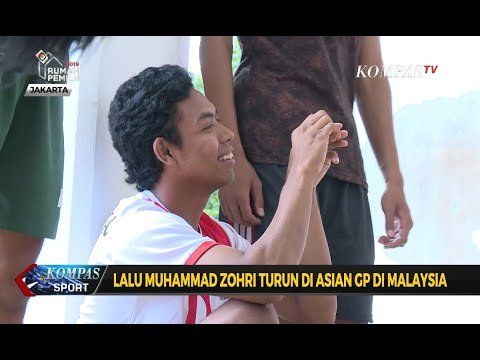 Lalu Muhammad Zohri Turun di Asian Grand Prix Malaysia