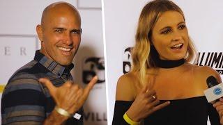 Kelly Slater, Alana Blanchard, And Pro Surfers Teach Us How To Throw The Perfect Shaka - The Inertia