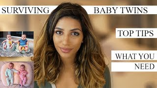 BABY TWINS| TOP TIPS| HOW TO SURVIVE!