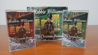 Robbie Williams The Christmas Present Signierte Deluxe Edition/Kassetten Unboxing