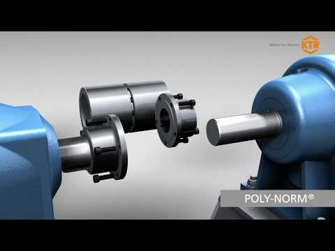 Drehelastische Wellenkupplung POLY-NORM®