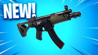 The New SMG in Fortnite..