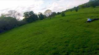 See that water? i'm a land in it. FPV Freestyle gone wrong
