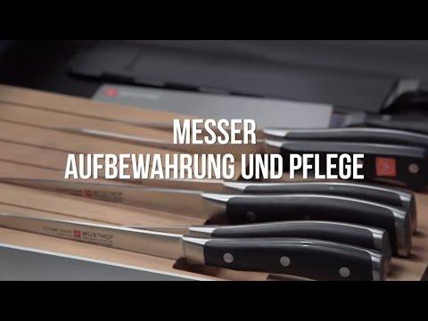 Messer – Aufbewahrung und Pflege