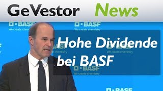 BASF: Höhere Dividende soll Aktionäre in Umbruchlaune halten