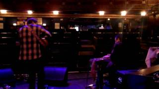"Joe Pug Soundcheck Session #2: ""The First Time I Saw You"" at The Vic Theatre Chicago"