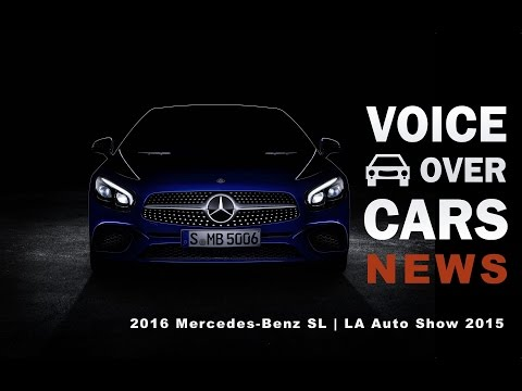 2016 Mercedes-Benz SL Preview - LA Autoshow 2015 Premiere