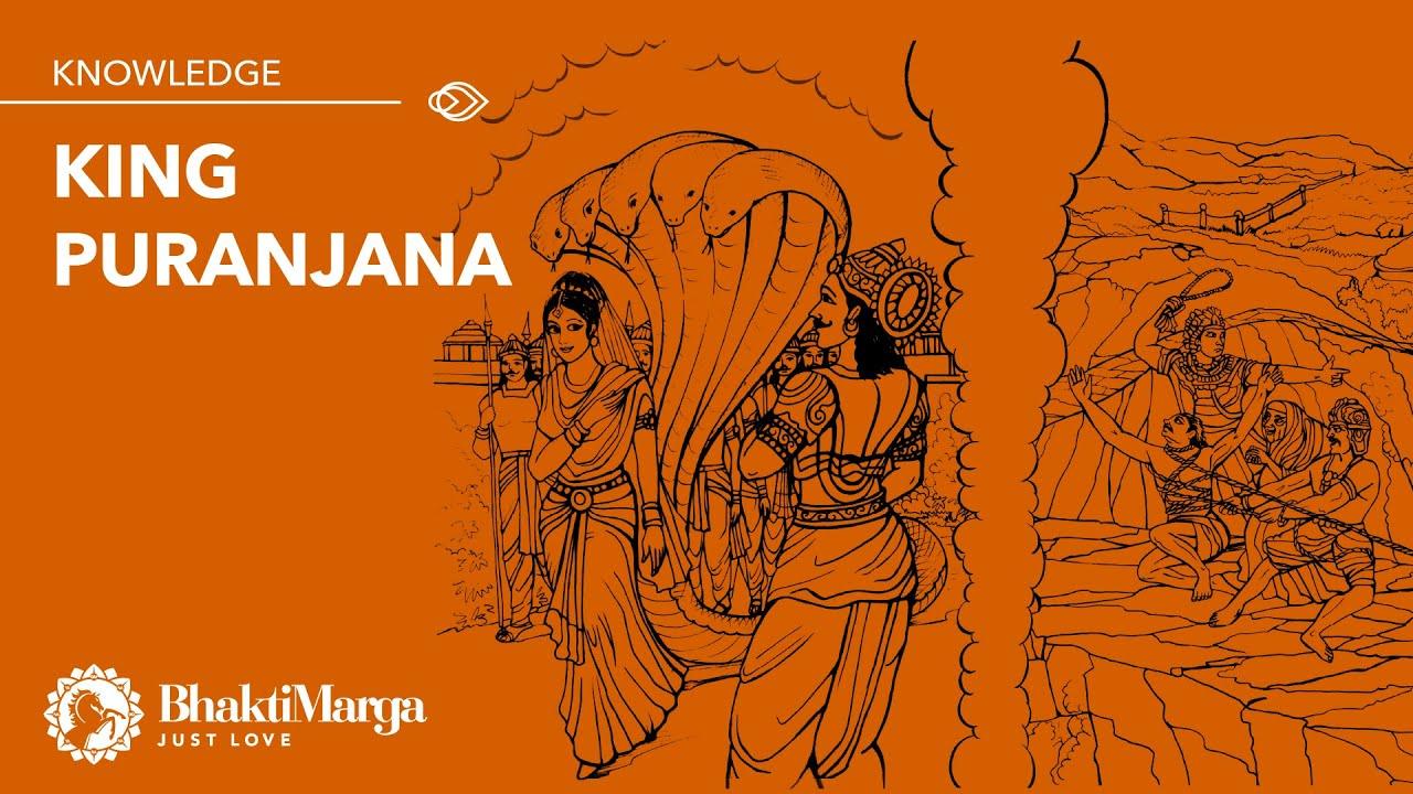 'King Puranjana' lecture by Shyam | Srimad Bhagavatam