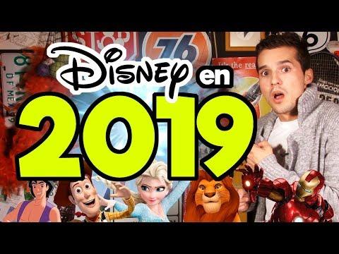 TODO sobre las películas Disney en 2019! / Memo Aponte