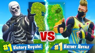Season 1 Vs Season 5 In Fortnite Battle Royale!