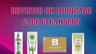 Review Of Modicare All Range Face Cleansers | Shalini Dixit