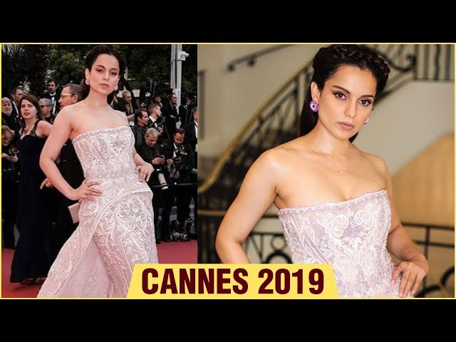 Cannes 2019 | Kangana Ranaut GORGEOUS Photoshoot In Fairytale Gown