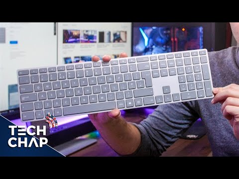 Microsoft SURFACE KEYBOARD Review - My New Favourite!