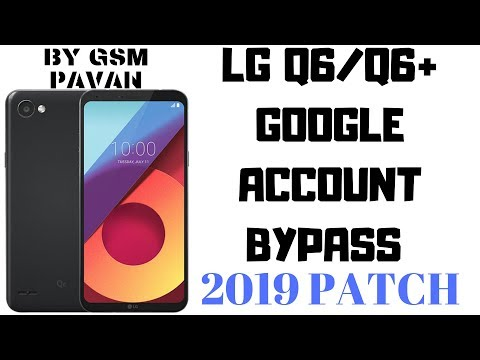 Bypass Google Account LG Q6/Q6+ Nougat 7 1 1 - смотреть