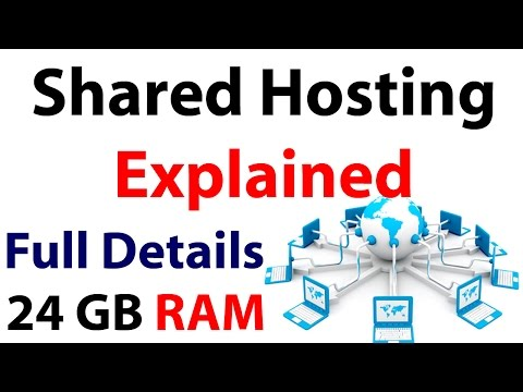 Shared Hosting explained | Should you choose or not [ Tutorial ]