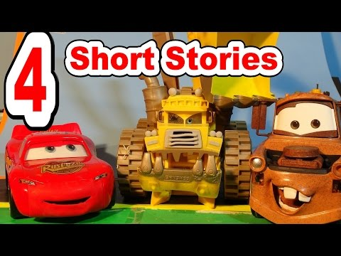 Pixar Cars 4 Short Stories With Lightning McQueen, Screaming Banshee, Frank, Mater And More
