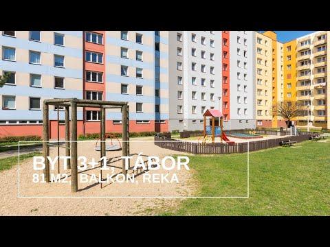 Video Prodej bytu 3+1 v osobním vlastnictví 81 m², Tábor